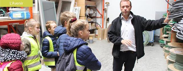 Mouscron : la société Labis Ingelec ouvre ses portes aux enfants