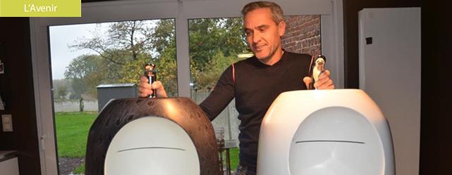 Urivabo : un objet révolutionnaire qui combine urinoir et lavabo