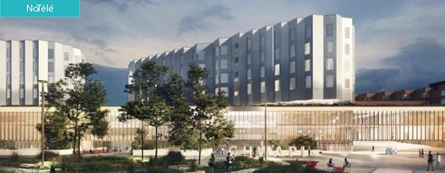 CHWapi : la CCI Wapi présente la phase 2 du chantier de construction