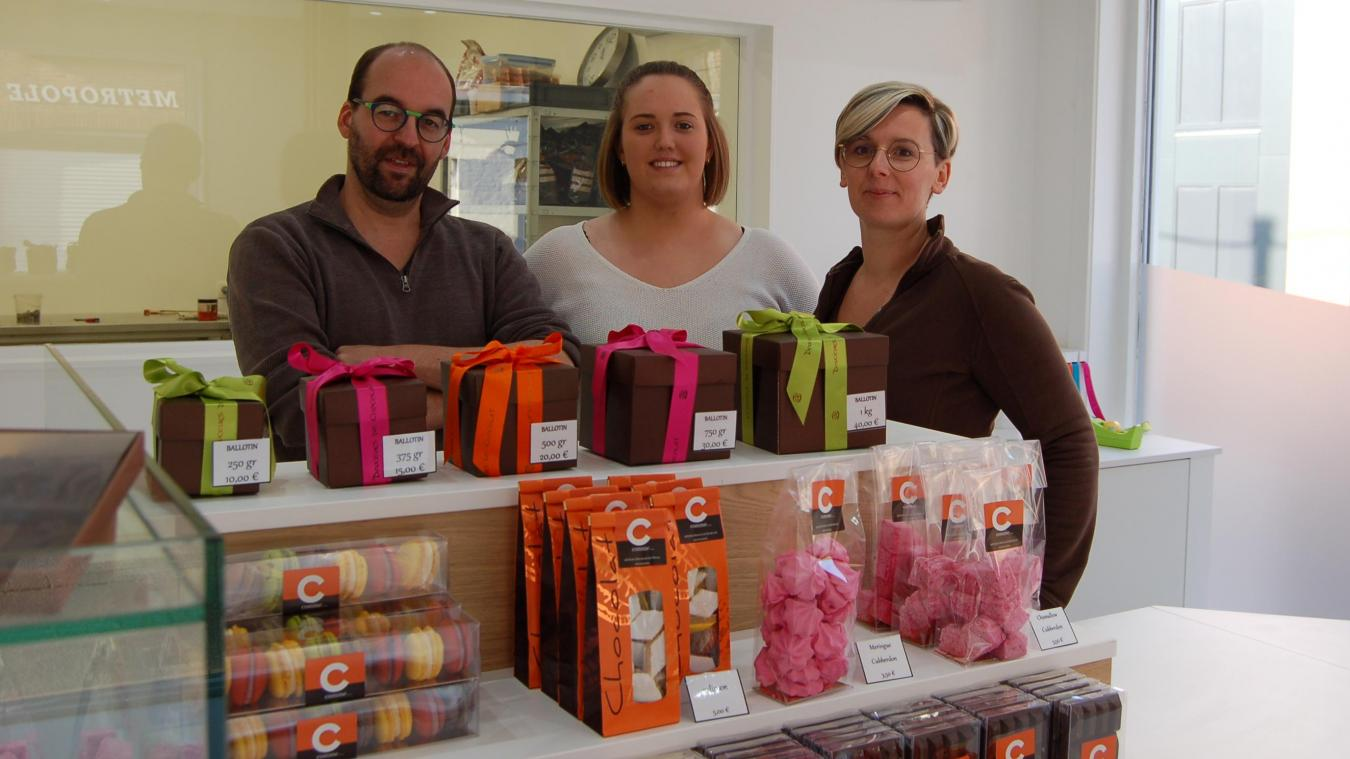 Dottignies : la chocolaterie « C Comme » inaugure ses nouvelles installations
