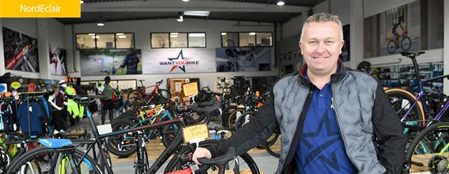 Tournai : le magasin « Want You Bike » ouvre ses portes au public