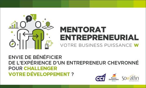 Illustration du mentorat entrepreneurial