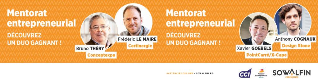 Mentorat entrepreneurial binômes 7 & 8