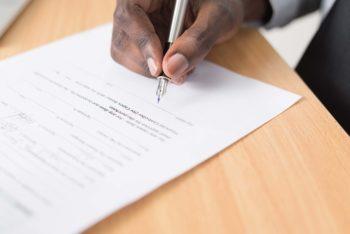 Illustration contrat de travail