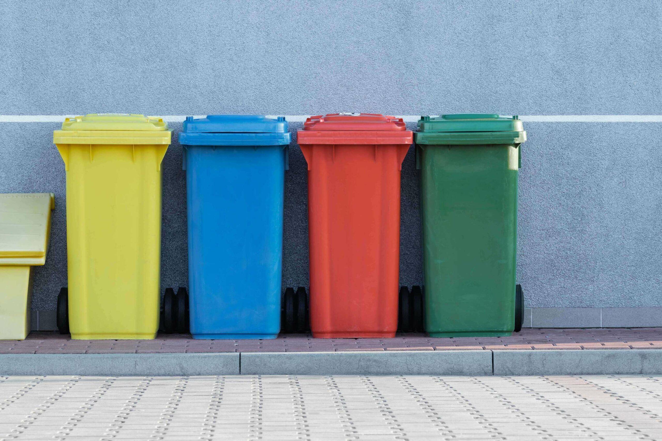 Illustration poubelles